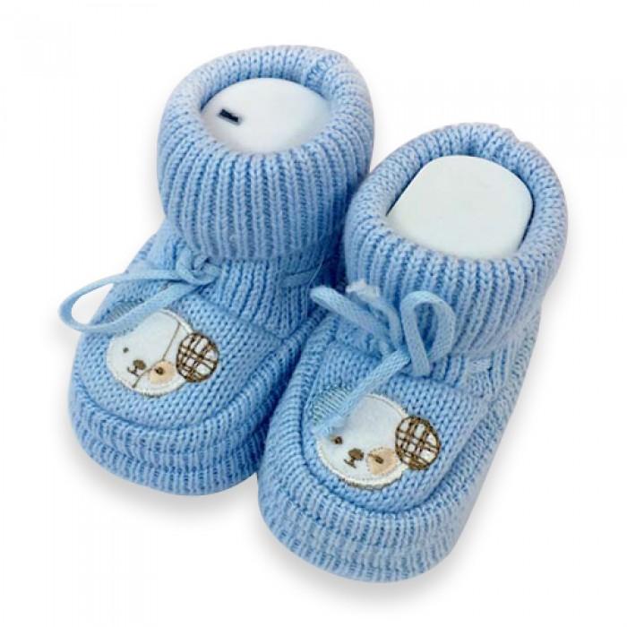 Minisse İlk Adım Ayakkabısı - Patik (Mavi)