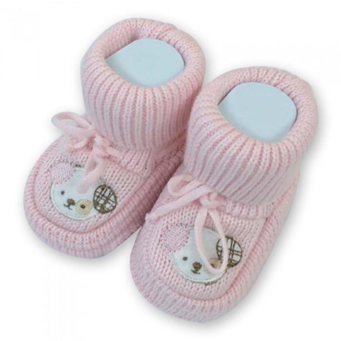 Minisse İlk Adım Ayakkabısı - Patik (Pembe)